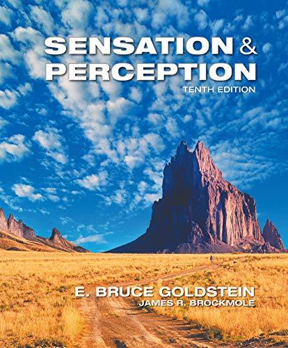 Llf Sensation/Perception: Bruce Goldstein and