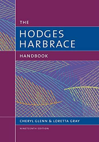 9781305676442: The Hodges Harbrace Handbook (The Harbrace Handbook Series)