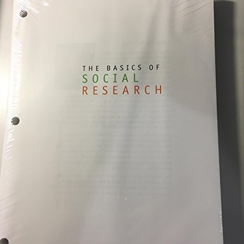 9781305677111: The Basics of Social Research, Loose-leaf Version