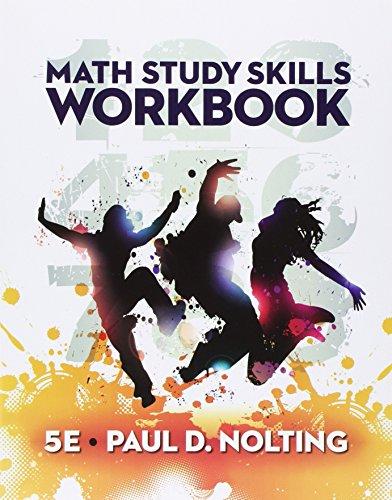 9781305697270: Bundle: Math Study Skills Workbook, 5th + Enhanced WebAssign Printed Access Card