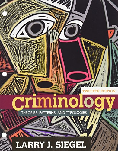 9781305697577: Bundle: Criminology: Theories, Patterns and Typologies, 12th + LMS Integrated for MindTap Criminal Justice, 1 term (6 months) Printed Access Card