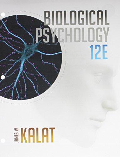 9781305698208: Bundle: Biological Psychology, Loose-leaf Version, 12th + MindTap Psychology, 1 term (6 months) Printed Access Card