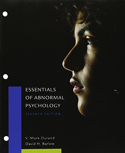 9781305698741: Bundle: Essentials of Abnormal Psychology, 7th + LMS Integrated for MindTap Psychology, 1 term (6 months) Printed Access Card