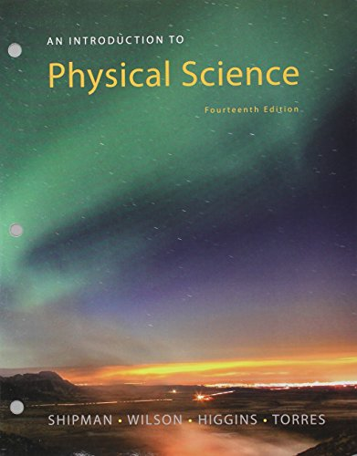 9781305699601: Bundle: An Introduction to Physical Science, 14th Loose-leaf Version + WebAssign Printed Access Card for Shipman/Wilson/Higgins/Torres' An Introduction to Physical Science, 14th Edition, Multi-Term