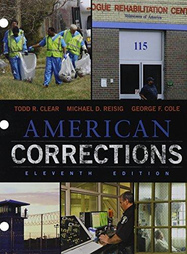 9781305699939: Bundle: American Corrections, Loose-Leaf Version, 11th + MindTap Criminal Justice, 1 term (6 months) Printed Access Card