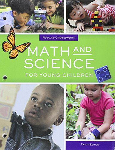 9781305700086: Bundle: Math and Science for Young Children, Loose-leaf Version, 8th + MindTap Education, 1 term (6 months) Printed Access Card