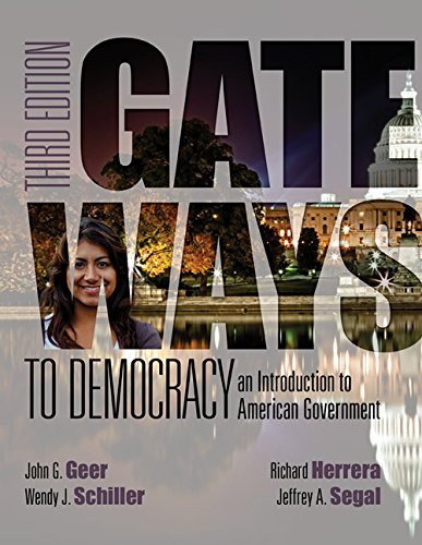 9781305700475: Bundle: Gateways to Democracy: An Introduction to American Government, Loose-leaf Version, 3rd + MindTap Political Science, 1 term (6 months) Printed Access Card