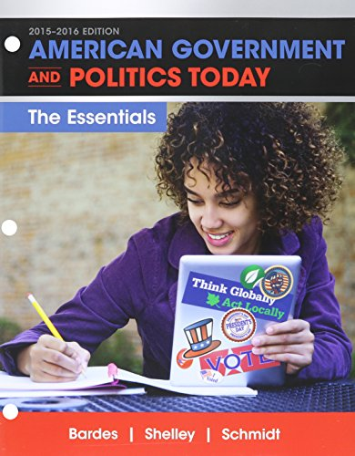 9781305701311: Bundle: American Government and Politics Today: Essentials 2015-2016 Edition, Loose-leaf Version, 18th + MindTap Political Science, 1 term (6 months) Printed Access Card