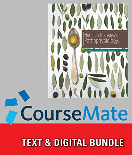 9781305701786: Bundle: Nutrition Therapy and Pathophysiology, 3rd + CourseMate with Diet and Wellness Plus Access Code