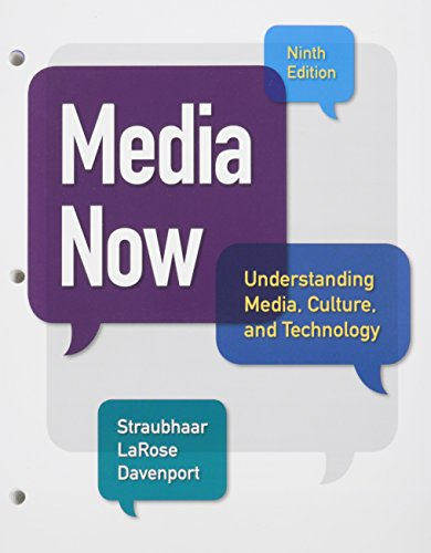 9781305715295: Bundle: Media Now, Loose-Leaf Version, 9th + LMS Integrated for MindTap Communication Arts, 1 term (6 months) Printed Access Card