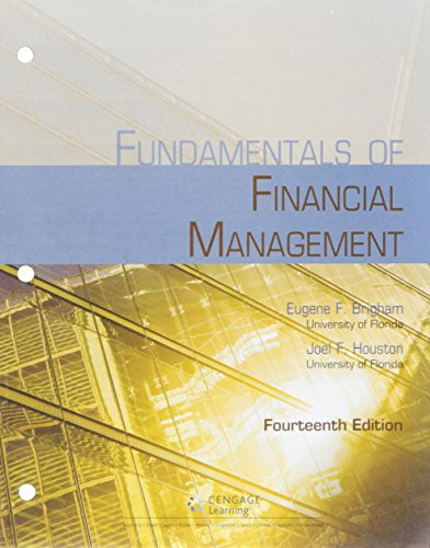 9781305718197: Bundle: Fundamentals of Financial Management, 14th + Aplia, 2 terms (12 months) Printed Access Card