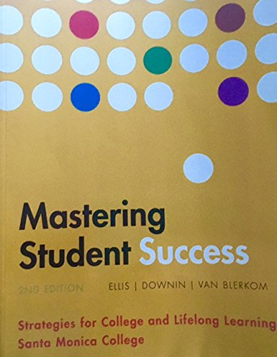 9781305744486: Mastering Student Success 2nd Edition