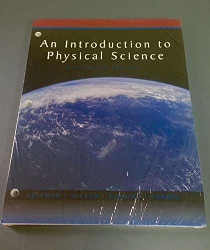 9781305749160: An Introduction to Physical Science
