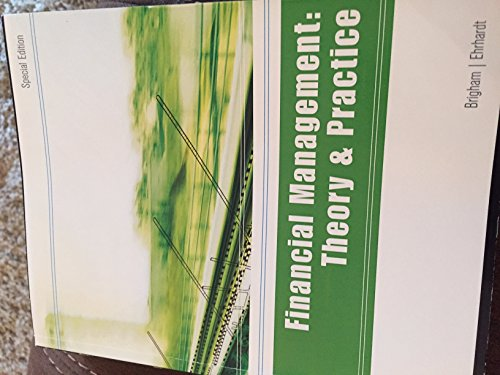9781305757073: Financial Management: Theory & Practice