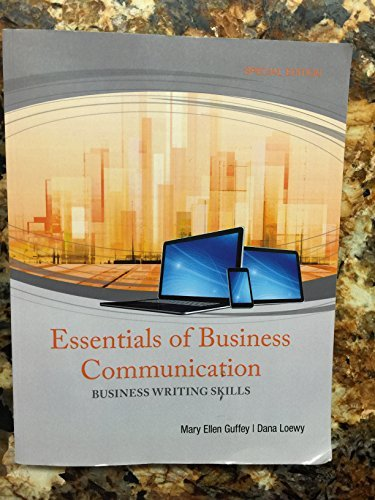 9781305758513: Essentials of Business Communication