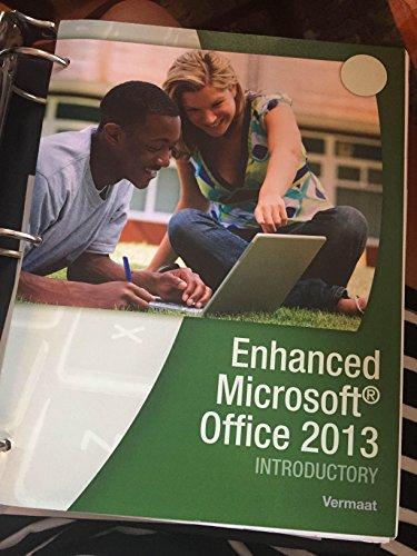 9781305760530: Enhanced Microsoft Office 2013