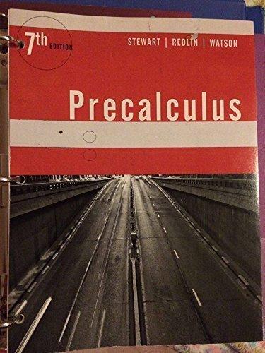 9781305761049: Precalculus