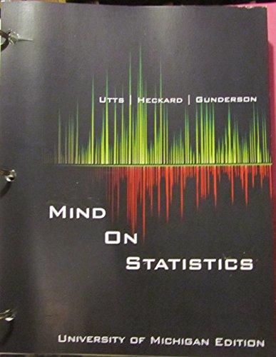 9781305762237: Mind on Statistics : University of Michigan Edition