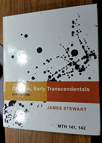 Stewart james calculus early transcendentals abebooks calculus early transcendentals ub edition mth 141 james stewart fandeluxe Images
