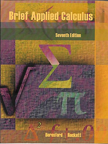 9781305769625: Brief Applied Calculus