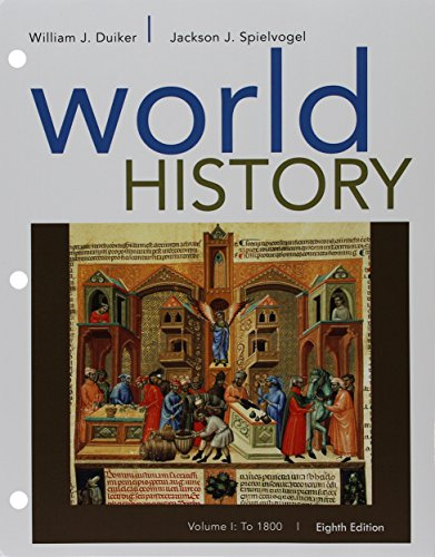 9781305773370: Bundle: World History, Volume I: To 1800, Loose-leaf Version, 8th + LMS Integrated for MindTap History, 1 term (6 months) Printed Access Card