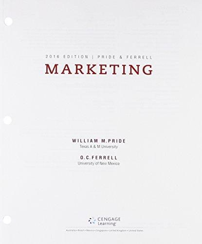 9781305773493: Bundle: Marketing 2016, Loose-Leaf Version, 18th + LMS Integrated MindTap Marketing, 1 term (6 months) Printed Access Card
