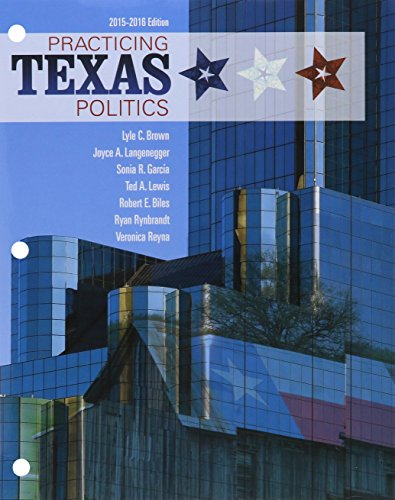 9781305774995: Bundle: Practicing Texas Politics, 2015-2016, 16th + LMS Integrated MindTap Political Science, 1 term (6 months) Printed Access Card