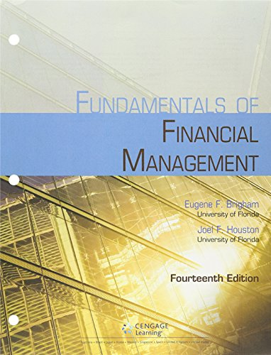 9781305777118: Bundle: Fundamentals of Financial Management, 14th + MindTap Finance, 1 term (6 months) Printed Access Card