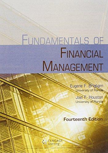 9781305777132: Bundle: Fundamentals of Financial Management, Loose-leaf Version, 14th + Aplia, 1 term (6 months) Printed Access Card