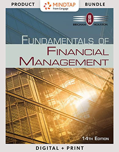 9781305777330: Bundle: Fundamentals of Financial Management, 14th + LMS Integrated for MindTap Management, 2 terms (12 months) Printed Access Card