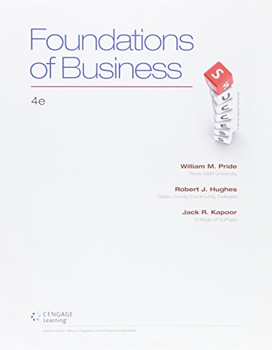 9781305778634: Bundle: Foundations of Business, 4th + LMS Integrated for MindTap Introduction to Business, 1 term (6 months) Printed Access Card