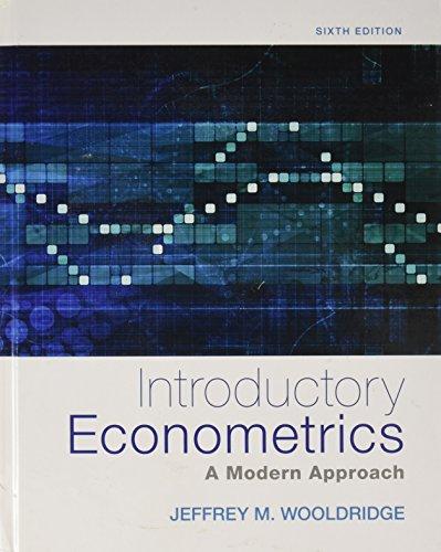 9781305779600: Bundle: Introductory Econometrics: A Modern Approach, 6th + MindTap Economics, 1 term (6 months) Printed Access Card