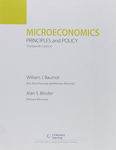 9781305781085: Bundle: Microeconomics: Principles and Policy, Loose-leaf Version, 13th + LMS Integrated for MindTap Economics, 1 term (6 months) Printed Access Card