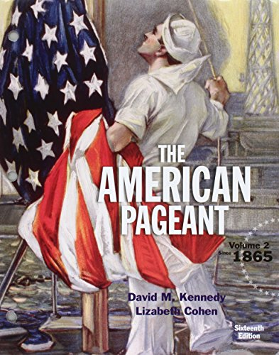 9781305781436: Bundle: American Pageant, Volume 2, Loose-Leaf Edition, 16th + MindTap History, 1 term (6 months) Printed Access Card