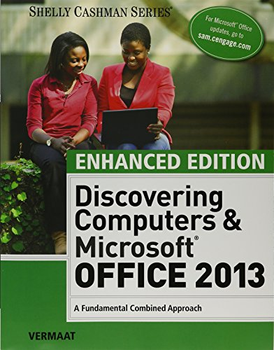 Bundle Enhanced Discovering Computers Amp Microsoft Office 2013 A Combined Fundamental