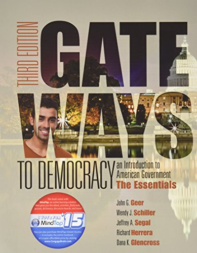9781305787698: Bundle: Gateways to Democracy: The Essentials, Loose-leaf Version, 3rd + LMS Integrated for MindTap Political Science, 1 term (6 months) Printed Access Card