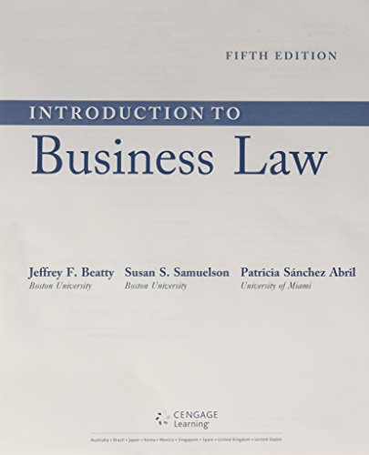 introduction to law 5th edition pdf