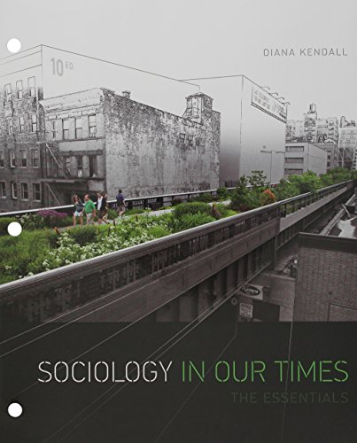 9781305812390: Bundle: Sociology in Our Times: The Essentials, 10th + LMS Integrated for MindTap Sociology, 1 term (6 months) Printed Access Card