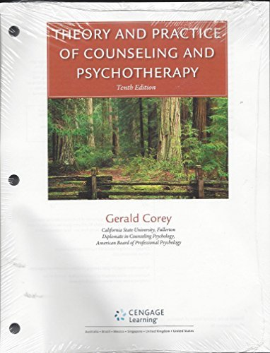 9781305857469: Theory and Practice of Counseling and Psychotherapy, Loose-leaf Version