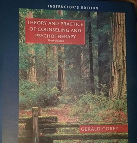 9781305858442: Theory and Practice of Counseling & Psychotherapy