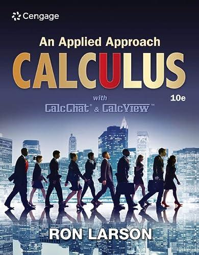 Calculus: An Applied Approach (Hardback): Ron Larson