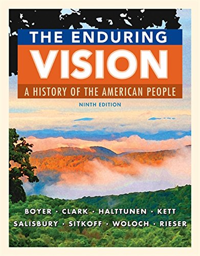 the enduring vision book index The enduring vision: book index chapter 1: native peoples of america, to 1500 i the first americans, c 13000-2500 bc 1 widespread settlement a ne asia 2 learned  the enduring vision how complete are our textbooks these days yes, they may cover christopher columbus's all the way to today's current events but just how.