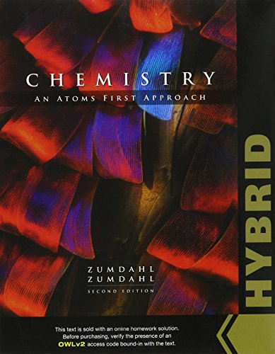 9781305861695: Chemistry: An Atoms First Approach, Hybrid (LMS Integrated for OWLv2, 4 terms (24 months) Printed Access Card)