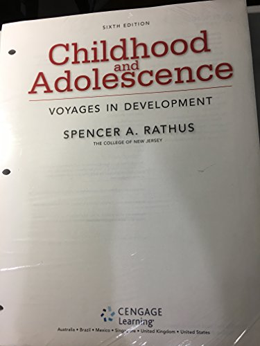 9781305861886: Childhood and Adolescence: Voyages in Development, Loose-leaf Version