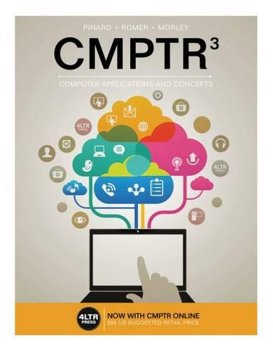 9781305862876: CMPTR (with CMPTR Online, 1 term (6 months) Printed Access Card) (New, Engaging Titles from 4LTR Press)