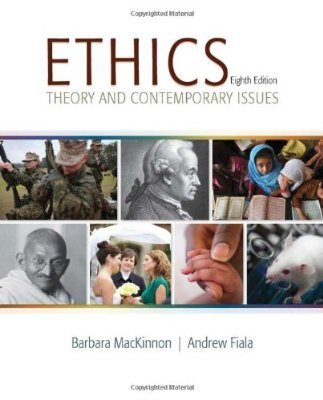 9781305863408: Ethics: Theory and Contemporary Issues, Loose-Leaf Version