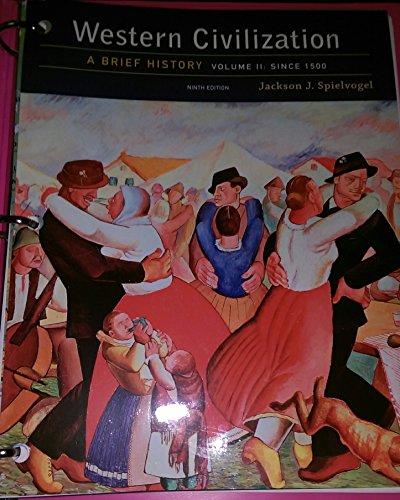 9781305865327: Western Civilization: A Brief History, Volume II: Since 1500, Loose-leaf Version