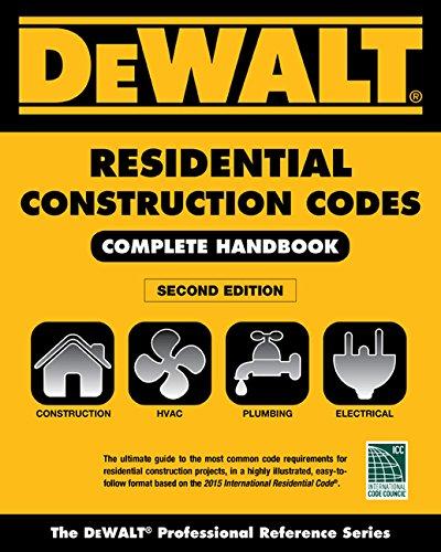 9781305867963: DEWALT 2015 Residential Construction Codes: Complete Handbook (DEWALT Series)