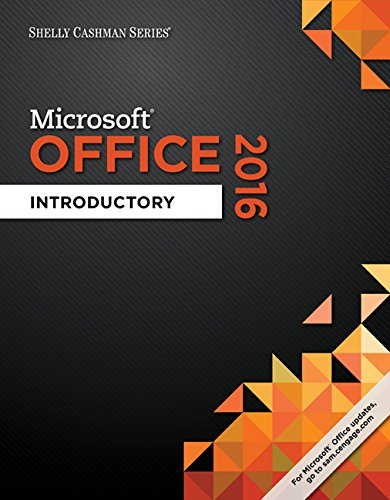 9781305870031: Shelly Cashman Microsoft Office 2016: Introductory