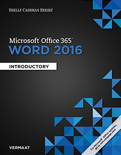 9781305870994: Shelly Cashman Series Microsoft Office 365 & Word 2016: Introductory